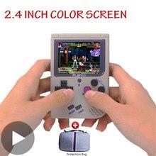 Portatil rétro joueur de Console de jeu vidéo de poche jeu vidéo Mini Arcade Portable jouer à la main Machine rétrogame Vidio