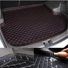Автомобильный коврик для багажника Sinjayer для любой погоды, автомобильный багажник, коврик для багажника, ковер, высокая боковая подкладка дл...