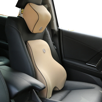 Car headrest seat lumbar support b