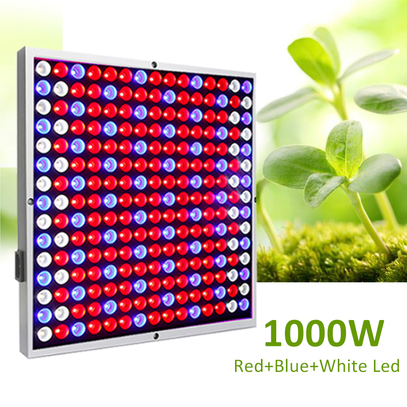 Grow Tent Lamp 1000W 225 Leds Grow Light Phyto Lamp For Plants Red Blue White LED Energy Saving Indoor Plant Tent Room Fitolampy