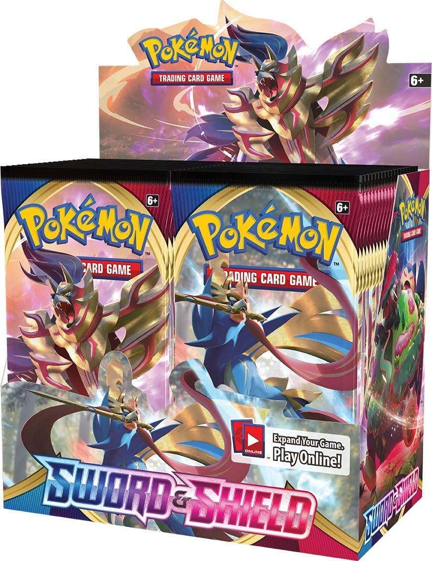 324Pcs/box Pokemon TCG Sword & Shield 36 Pack Pokemon Cards Collecting Toys