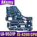 E1-572G материнская плата для acer E1-572 V5-561G материнская плата V5WE2 LA-9531P I5-4200 процессор HD8670M GPU тестовая работа 100% оригинал