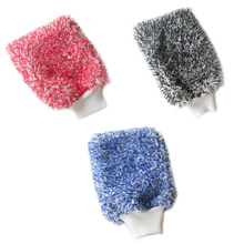 Towel Cleaning gloves Car Wash Soft Microfiber Gloves Detailing Mitt Cloth