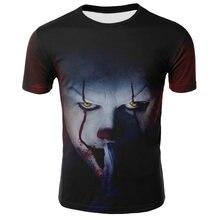 2020 новый фильм ужасов футболка Чаки 3d печать Для Мужчин's