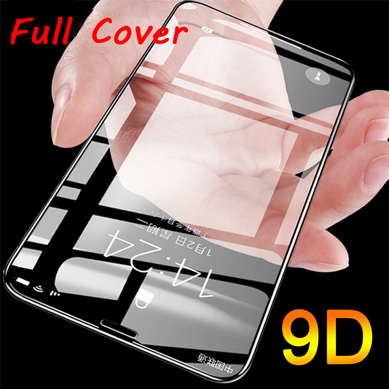 9D Coverage Screen Protector For Huawei P Smart Plus Y6 Y7 Prime Pro Y5 Y9 2019 Tempered Glass For Huawei P Smart Y6 Pro 2017