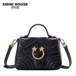 Image 2 - EMINI maison Star matériel en cuir véritable sac à main de luxe sacs à main femmes sacs concepteur sacs à bandoulière pour femmes sac à bandoulière