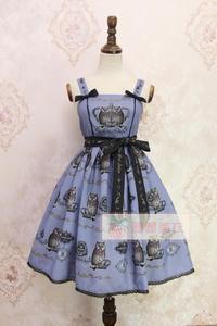 Image 5 - Doce coruja impresso lolita casual jsk midi vestido por alice girl stock estoque limitado