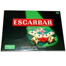 Qualità Spagnolo Scrabble Giochi Bordo Ortografia Gioco Crossword Learning Education Giochi Da Tavolo SC-005