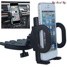 360 Grad umdrehung Universal Auto CD Slot Telefon Halterung Halter Für Handys iPhone Samsung