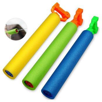 1 zestaw pistolety na wodę zabawka Dropshipping wysuwana Drifting zabawki wodne plaża na świeżym powietrzu gry dla dzieci dzieci plaża pistolety na wodę woda tanie i dobre opinie CN (pochodzenie) Children s pull-out high-pressure water gun straight water gun toy