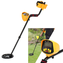 купить Professional Underground Metal Detector Metal-Detector High Sensitivity Lcd Display Treasure Gold Hunter Finder дешево
