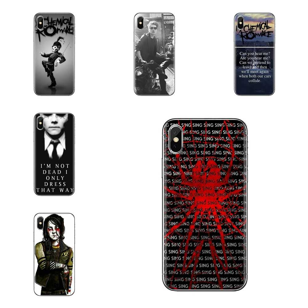 Gerard Way My Chemical Romance pasek etui na telefon komórkowy dla ipoda Touch Apple iPhone 11 Pro 4 4S 5 5S SE 5C 6 6S 7 8 X X XS Plus Max
