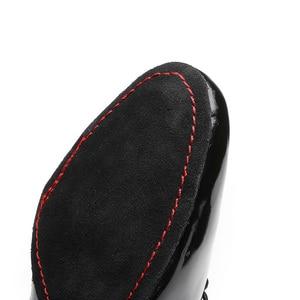 Image 5 - DIPLIP جديد الرجال أحذية الرقص اللاتينية قاعة الرقص الحديثة التانغو الأطفال الرجال الوطنية القياسية أحذية الرقص 25 45 متر