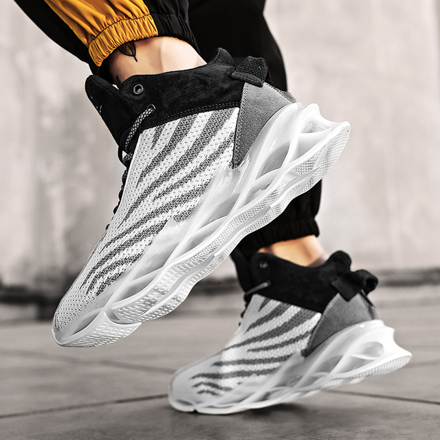 $ US $13.19 2020 New Trend Blade Sports Shoes Mens Basketball Shoes Men Casual Male Sneakers Zapatos De Mujer Hombre Plus Size 46 Zapatillas
