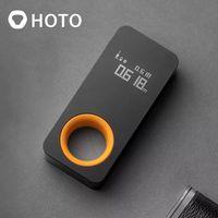 HOTO-telémetro láser inteligente, cinta métrica láser inteligente, pantalla OLED de 30M, medidor de distancia láser, conexión a teléfono móvil