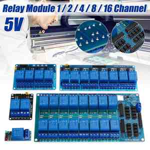 5V Channel Relay Module With Optocoupler Relay Output For Arduino PIC AVR DSP ARM
