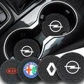 2 шт., автомобильные противоскользящие подставки под чашки для Audi TT A1 A3 A4 B5 B6 B7 A5 A6 Q5 C5 C6 C7 A7 J8 B8 A8 D3 D4 Q3 42 A4L