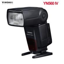 Беспроводная вспышка YONGNUO YN560 Ⅳ 2,4 ГГц для камеры Canon Nikon Pentax