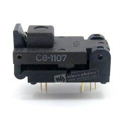 SOT6 SOT23 499-P44-00 Wells IC тестер сгорания разъем программирования адаптер 1,3-1,8 мм ширина шаг 0,95 мм