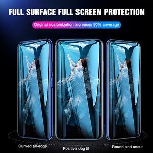 Image 3 - 111D 保護ガラス Huawei 社の名誉 20 プロ 10 Lite 8 9 V10 V20 強化ガラスのため 20 Lite スクリーンプロテクターフィルム