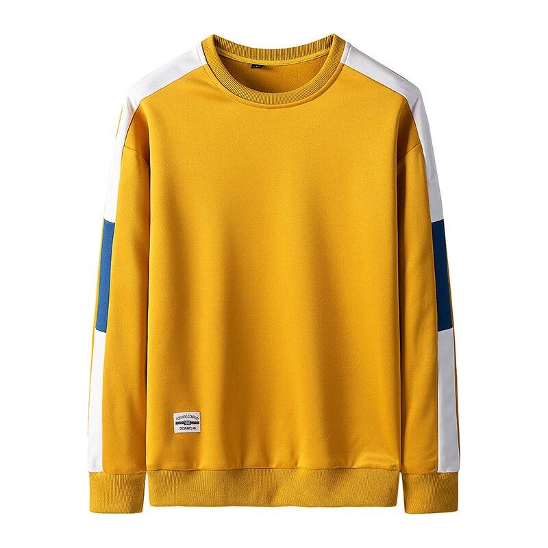 Sweatshirt Men Sportwear Long Sleeve Hoodie Men Casual Hip Hop Sweatshirt Streetwear Solid Men Hoodies 22