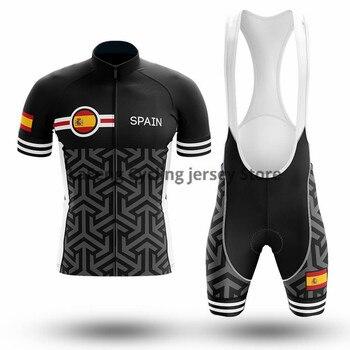 2020 España Ropa Ciclismo bibers de Jersey de Ciclismo Set montaña Ciclismo...