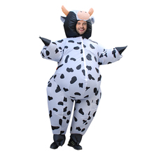 Dairy Cow Inflatable Costume Halloween Costume for Adult Men