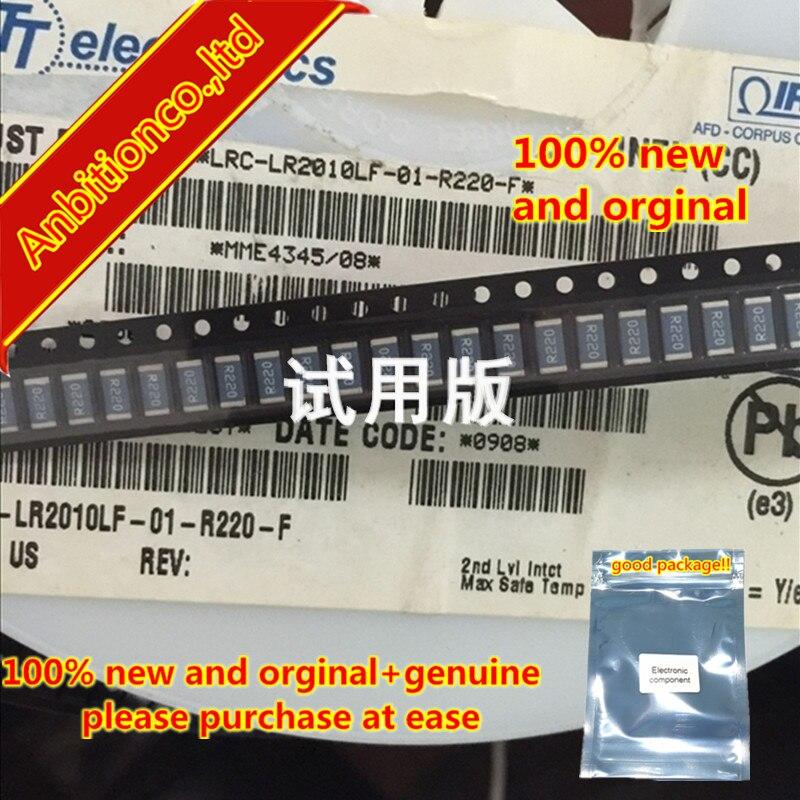 10pcs 100% New And Orginal Ceramic Resistor LRC-LR2010LF-01-R220-F 1W 2010-0.22R 1% In Stock