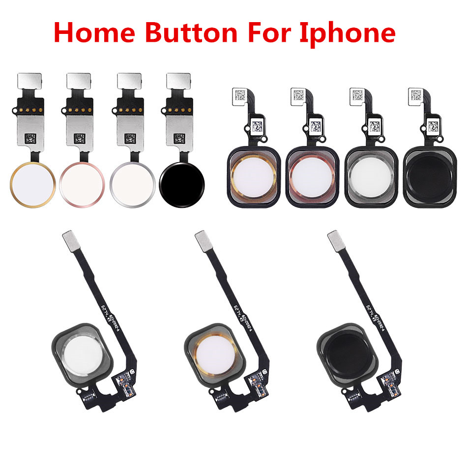 Home-Button Replacement-Parts Flex-Cable 7plus iPhone 5 1pc with for 5C 5S 6/6plus/6s-plus/.. title=