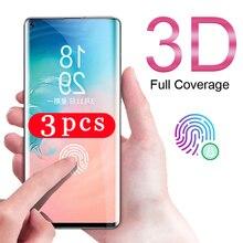 3 шт. для samsung Galaxy S20 Ultra S10 lite 2020 S10e S9 S8 plus S7 edge Закаленное стекло Защитная пленка для экрана телефона