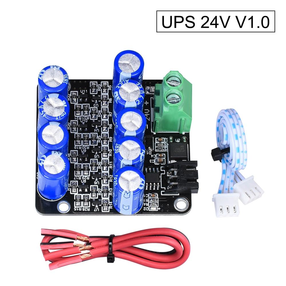 BTT UPS 24V V1.0 reprendre l'impression tandis que le capteur de Module de mise hors tension MINI UPS V2.0 12V pièces d'imprimante 3D pour SKR V1.3 Ender-3 CR-10 V2