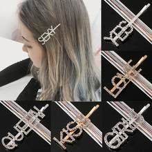 Hairwear For Women Children Hair Accessories Girl Fashion Gift Crown Heart Charm Hairpin New Letter Love(China)