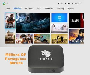Image 3 - Tigre2 tv box HTV6 HTV BOX 5 iptv HTV5 BOX H.TV 6 Brazilian Portuguese Internet Streaming box