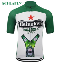 Heineken cycling jerseys summer short sleeve Netherlands beer retro bike wear jersey road jersey cycling clothing schlafly cheap Polyester Spring AUTUMN Full Zipper Fits true to size take your normal size Breathable Anti-Pilling Anti-Shrink Anti-sweat