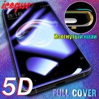 5D de vidrio templado para Xiaomi Redmi Nota 10 8 9 Pro Note 9s 7 6 5 K20 9a 9c Poco X3 Nfc F3 M3 Protector de pantalla para Mi 9t Pro 10t 8 9 Lite