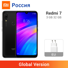 Xiaomi Redmi 7-3gb 32GB Octa Core Fingerprint Recognition 12MP New Mobile-Phone Dual-Camera