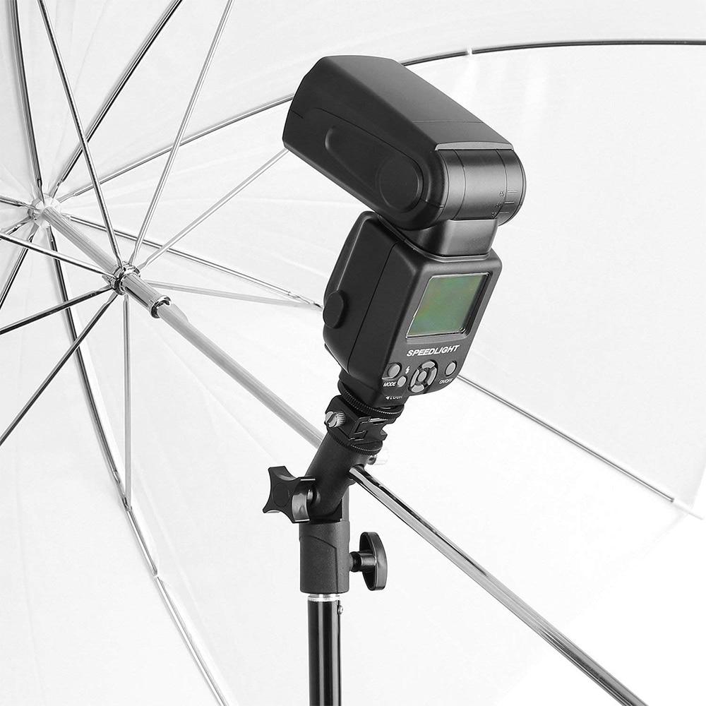 Mbështetëse mbajtëse çadre speedlite mbajtëse mbajtëse dritash - Kamera dhe foto - Foto 6