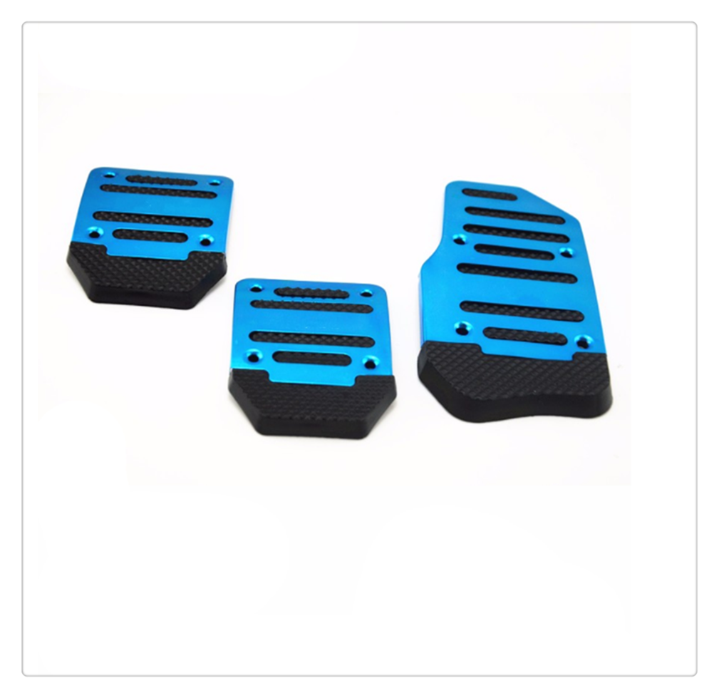 Universal aluminum alloy manual / automatic transmission car pedal for hyundai accent 1994 2000 <font><b>i30</b></font> 2007 2012 image