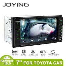 "JOYING 7""Touch screen Android 10 Auto 2 Din Car  Radio Stereo Autoradio Head Unit GPS Multimedia For Toyota Car 4GB 64GB Carplay"