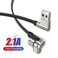 USB-C Cable 180 grado moda patrón de tipo C Cable de carga de Cable de datos del teléfono móvil