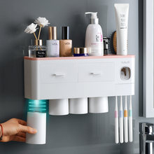 Ванная комната Зубная щётка держатель с креплением Автоматический