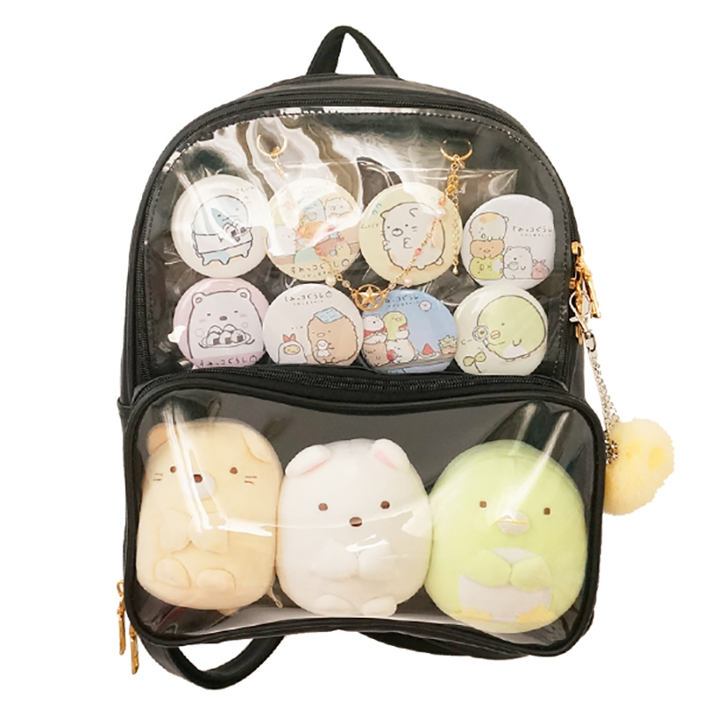 New Arrival Ita Bag Women Kawaii Clear Backpack 7 Colors Ladies Transparent Backpack Teenage Girls Lovely Lolita Bag Itabag H224
