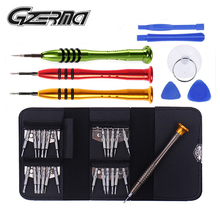 цена на 33 in 1 Professional Screwdriver Set Magnetic Mobile Phone Opening Repair Tools Screwdriver Set For Phone PC Tablet Laptop
