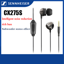 Earphones Bass-Headset Sport-Game CX275S Sennheiser with Mic-Stereo 1-Button-Control