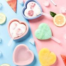 Домашняя силиконовая форма для мороженого «сделай сам» несколько