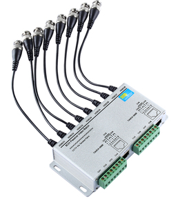 Image 2 - 8CH pasif Video Balun Twisted UTP Video Balun Video alıcı verici
