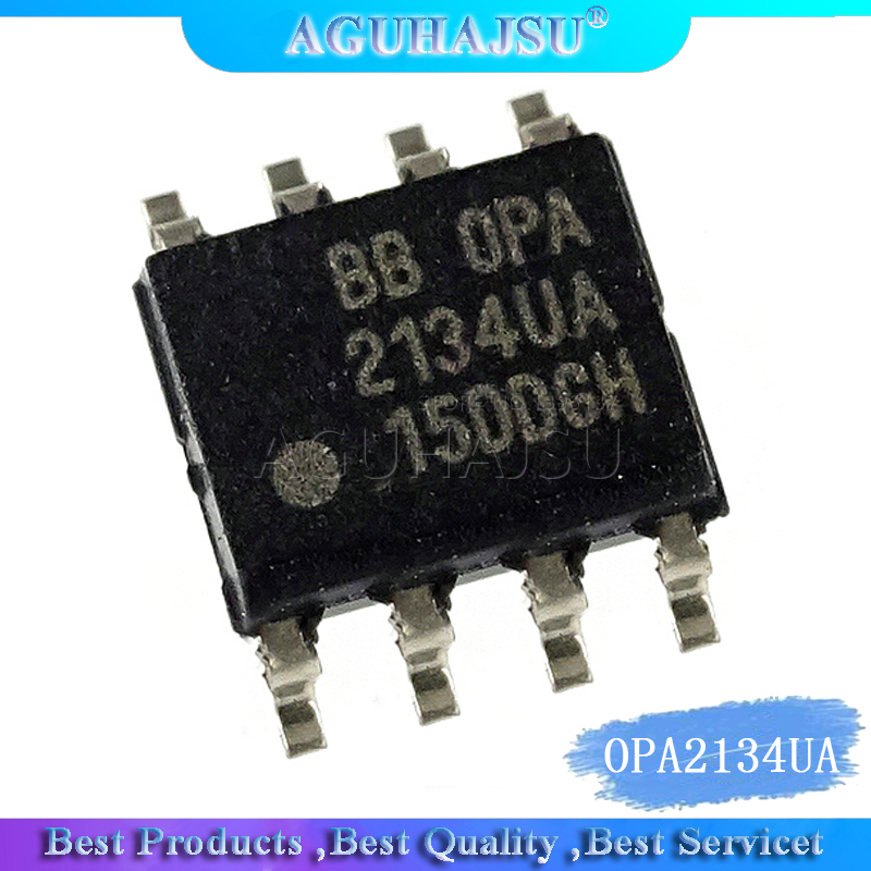 5pcs OPA2134UA <font><b>SOP8</b></font> High Performance AUDIO OPERATIONAL AMPLIFIERS <font><b>OPA2134</b></font> SOP image