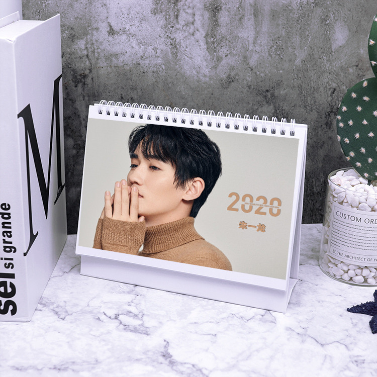 Posters and photo albums around Zhu Yilong 2020 Year of the Rat Calendar gift cards|  - title=