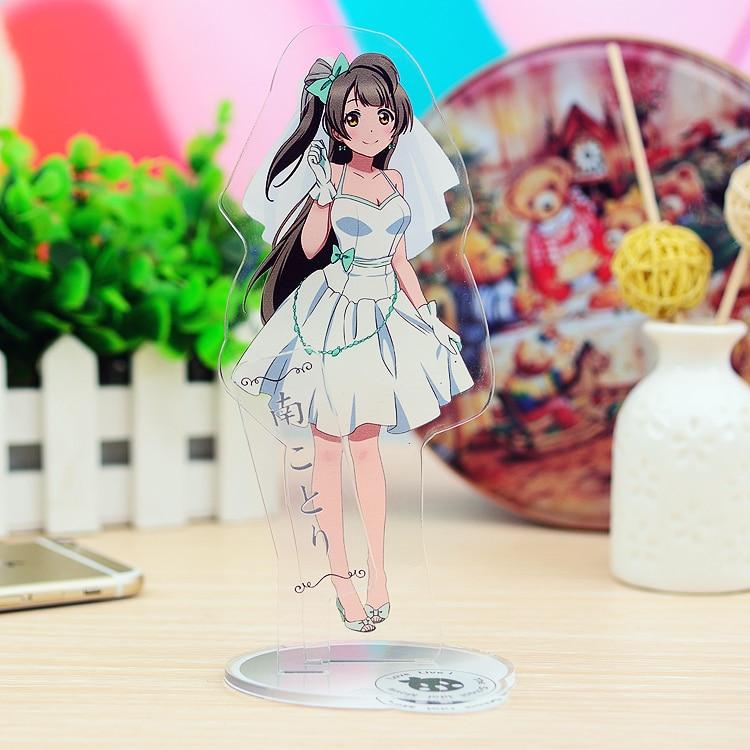 Anime LoveLive!School Idol Project Minami Kotori Sonoda Umi Acrylic Keychain Keyring Stand Figure Model Plate Desk Decor Gifts