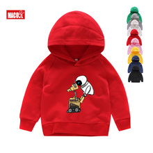 Wall-E Eve Robot Couple Cartoon Funny Hoodies Homme Jollypeach Red Breathable Sweatshirts Kids Long Sleeves